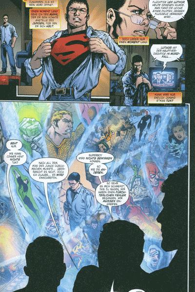 Leseprobe von Infinite Crisis, Band 1 - Superboy, Nightwing, Donna Troy