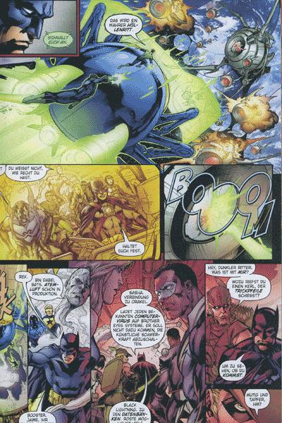 Leseprobe von Infinite Crisis, Band 6 - Touchdown, Ein Kessel bunter Helden