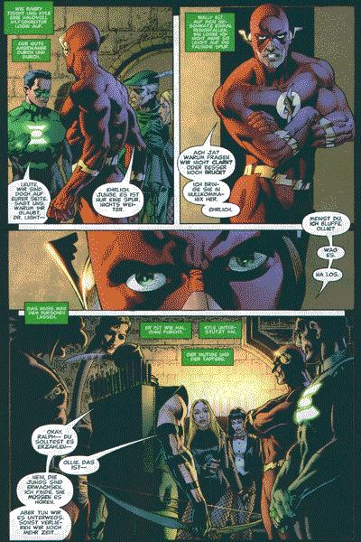 Leseprobe von BATMAN UND SUPERMAN präsentieren: IDENTITY CRISIS, Band 2 -
