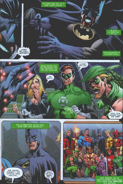 Leseprobe von BATMAN UND SUPERMAN präsentieren: IDENTITY CRISIS, Band 6 -