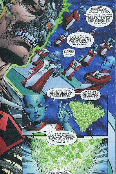 Leseprobe von Green Lantern, Sammelband 7 - Fürchtet das Sinestro Corps