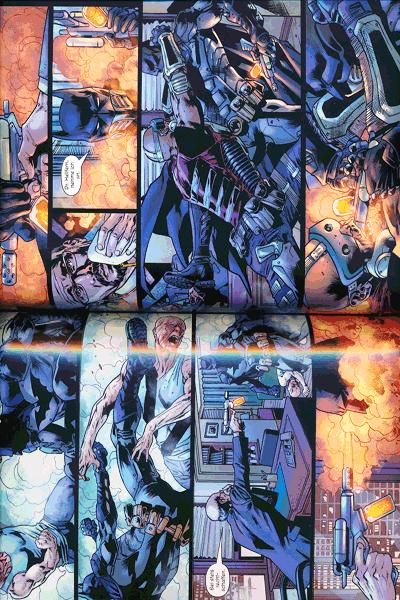 Leseprobe 1 von Batmans Grab lim. Hardcover, Band 1 -