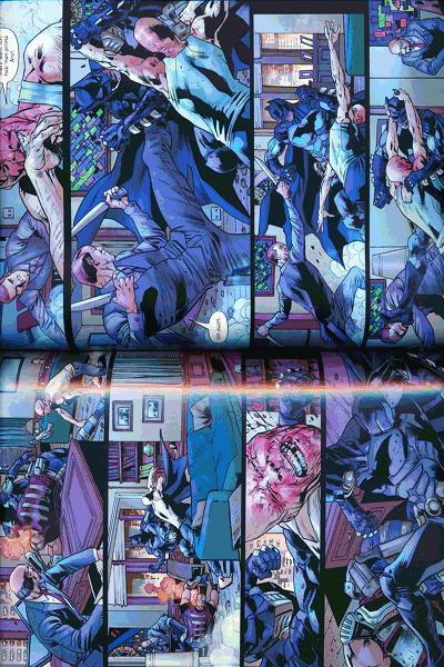 Leseprobe 2 von Batmans Grab lim. Hardcover, Band 1 -