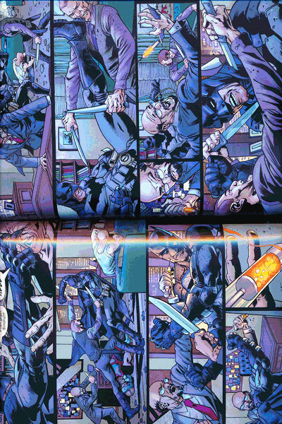 Leseprobe 3 von Batmans Grab lim. Hardcover, Band 1 -