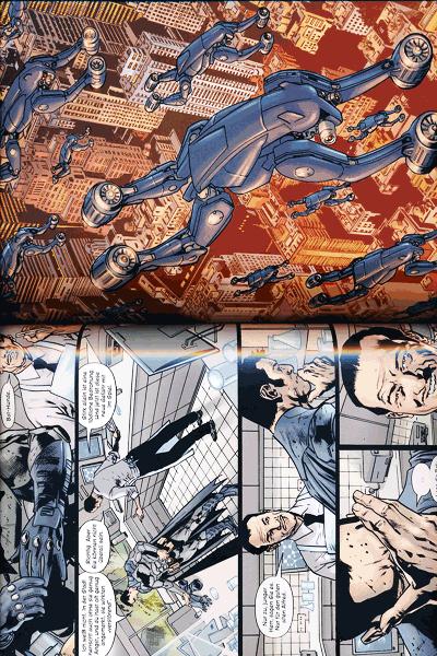 Leseprobe 1 von Batmans Grab lim. Hardcover, Band 2 -