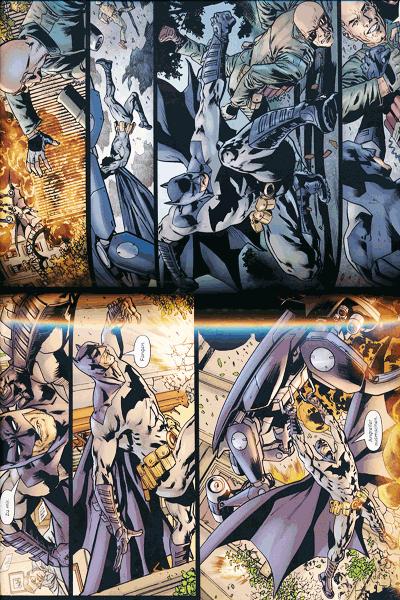 Leseprobe 3 von Batmans Grab lim. Hardcover, Band 2 -