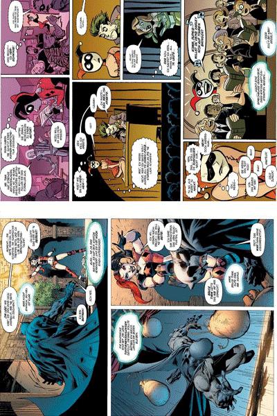 Leseprobe 3 von Harley Quinn, Band 1 - Kopfgeld auf Harley