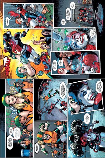 Leseprobe 2 von Harley Quinn, Band 3 - Die durchgeknallteste Serie des neuen DC-Universums!