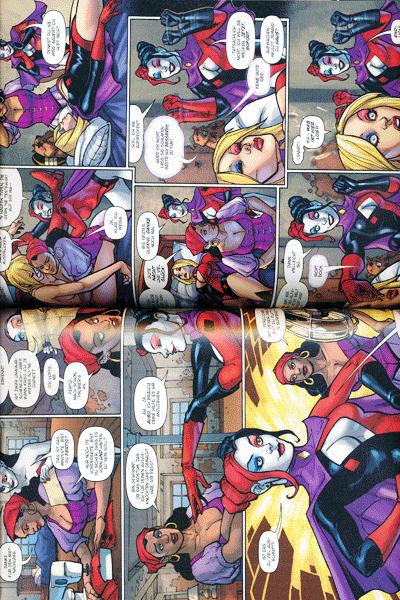 Leseprobe 1 von Harley Quinn, Band 4 - Die durchgeknallteste Serie des neuen DC-Universums!