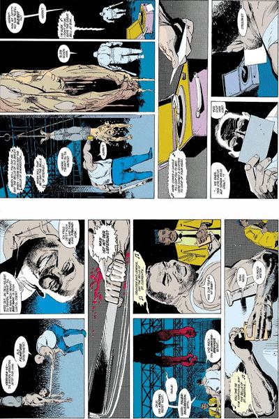 Leseprobe 1 von Batman - Legenden des dunklen Ritters lim. Hardcover, Band 2 - Gothic