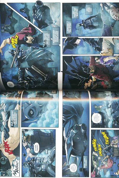 Leseprobe 1 von BATMAN - ARKHAM ORIGINS lim. Hardcover, Einzelband -