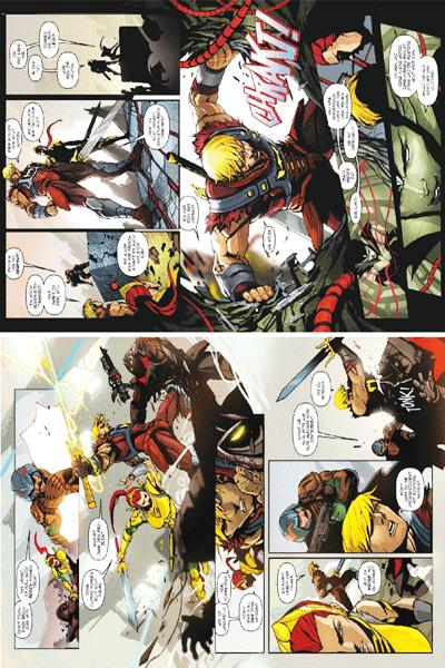Leseprobe 1 von DAS DC-UNIVERSUM VS. DIE MASTERS OF THE UNIVERSE lim. Hardcover, Einzelband -