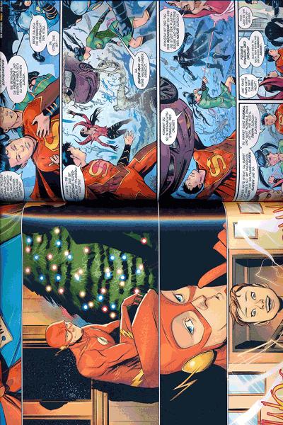 Erste Leseprobe von Weihnachten mit den DC-Superhelden, Einzelband -