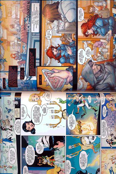 Zweite Leseprobe von Weihnachten mit den DC-Superhelden, Einzelband -