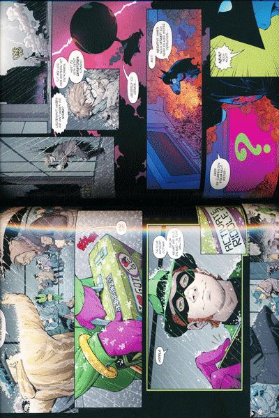 Leseprobe 1 von BATMAN PAPERBACK lim. Hardcover, Band 5 - Jahr Null - Die dunkle Stadt