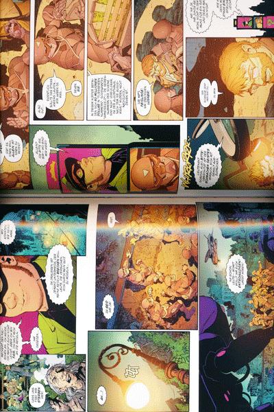 Leseprobe 2 von BATMAN PAPERBACK lim. Hardcover, Band 5 - Jahr Null - Die dunkle Stadt