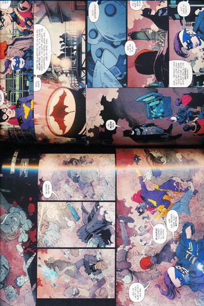 Erste Leseprobe von BATMAN PAPERBACK lim. Hardcover, Band 7 - Todesspiel