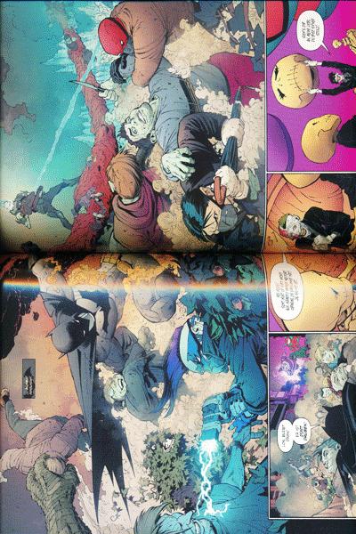 Leseprobe 2 von BATMAN PAPERBACK lim. Hardcover, Band 7 - Todesspiel