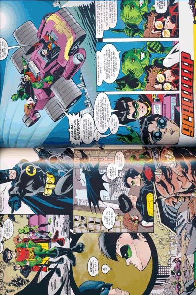 Leseprobe 1 von BATMAN: NIEMANDSLAND lim. Hardcover, Band 3 -