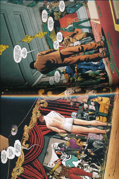 Leseprobe 1 von BATMAN PAPERBACK | REBIRTH lim. Hardcover, Band 4 - DerJoker/Riddler Krieg