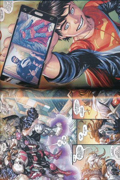 Leseprobe 1 von SUPERMAN PAPERBACK | REBIRTH lim. Hardcover, Band 2 - Wer ist Clark Kent?