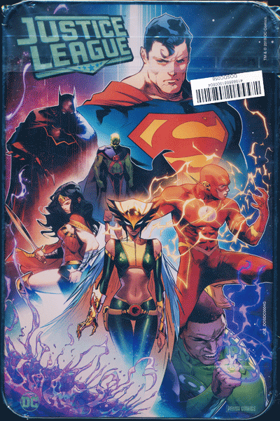Leseprobe 2 von JUSTICE LEAGUE VARIANT-METALLBOX, Comicbox -