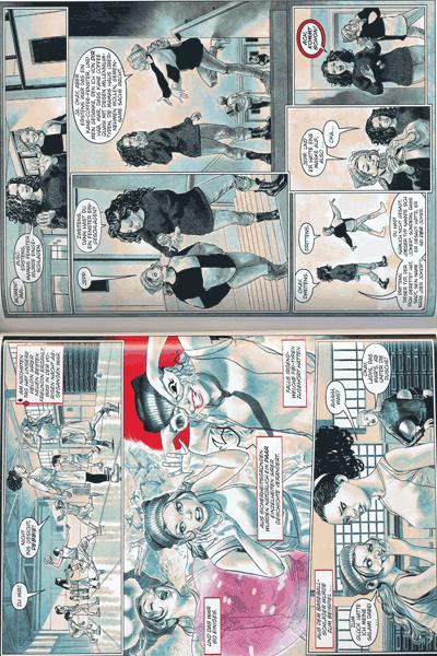 Leseprobe 1 von Harley Quinn: Breaking Glass, Einzelband - Jetzt kracht