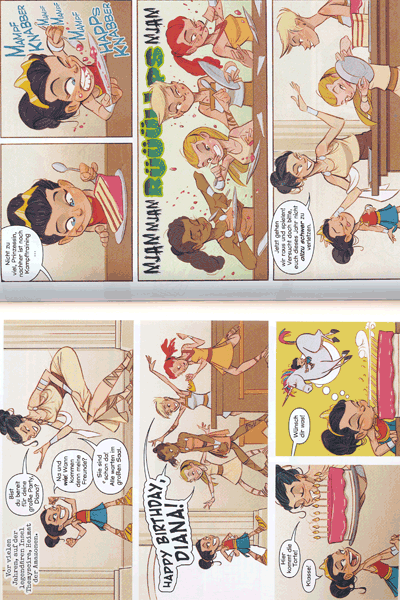Leseprobe 1 von Hallo Justice League, Einzelband -