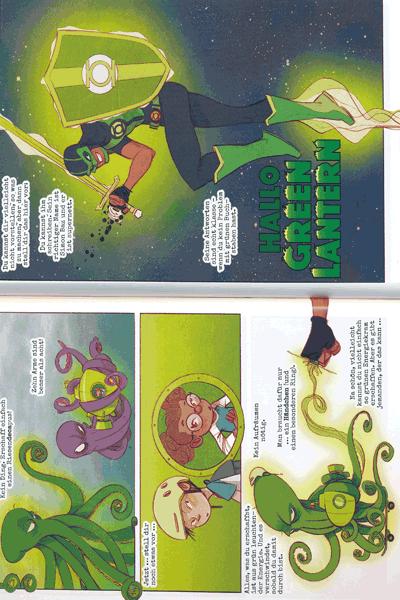 Leseprobe 3 von Hallo Justice League, Einzelband -