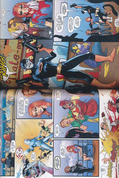Leseprobe 1 von HARLEY QUINN: REBIRTH (Wiedergeburt), Band 7 - Auszeit wegen schlechten Betragens, Bat-Harley Kap. 1 - 2, Angry Bird Kap. 1 - 5