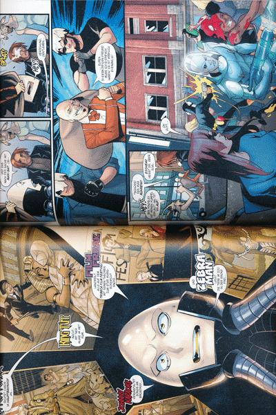 Leseprobe 2 von HARLEY QUINN: REBIRTH (Wiedergeburt), Band 7 - Auszeit wegen schlechten Betragens, Bat-Harley Kap. 1 - 2, Angry Bird Kap. 1 - 5