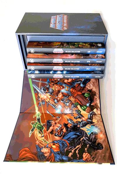 Leseprobe 1 von He-Man und die Masters of the Universe - Deluxe Collection, 4 Hardcover im Schuber - Sammelschuber