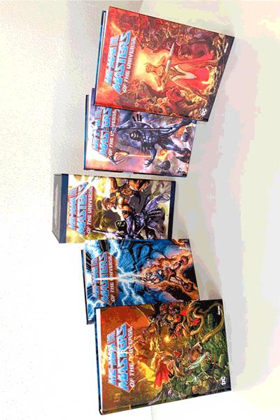 Leseprobe 2 von He-Man und die Masters of the Universe - Deluxe Collection, 4 Hardcover im Schuber - Sammelschuber