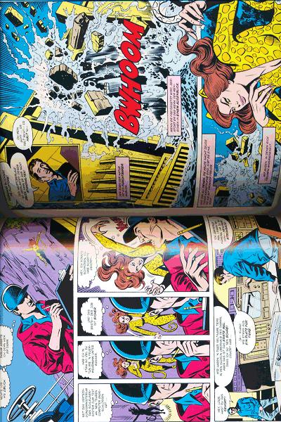 Leseprobe 1 von Wonder Woman gegen Cheetah lim. Hardcover, Einzelband -