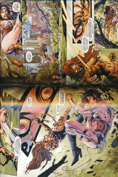 Leseprobe 3 von Wonder Woman gegen Cheetah lim. Hardcover, Einzelband -