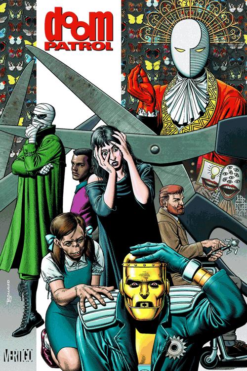 Leseprobe 1 von Doom Patrol [deluxe comic], Einzelband - Crazy Jane, Mr. Nobody, Robotman <b class=mehrwert>[deutschsprachige Ausgabe]</b>