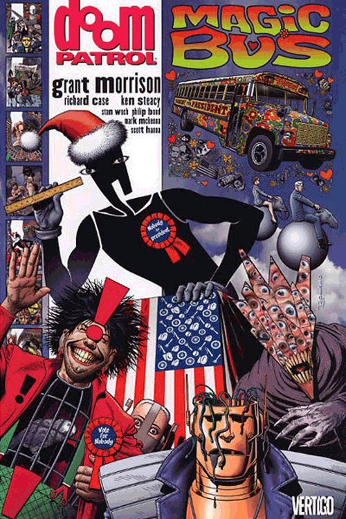 Leseprobe 2 von Doom Patrol [deluxe comic], Einzelband - Crazy Jane, Mr. Nobody, Robotman <b class=mehrwert>[deutschsprachige Ausgabe]</b>