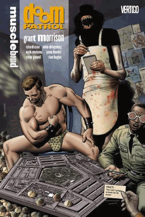 Leseprobe 4 von Doom Patrol [deluxe comic], Einzelband - Crazy Jane, Mr. Nobody, Robotman <b class=mehrwert>[deutschsprachige Ausgabe]</b>