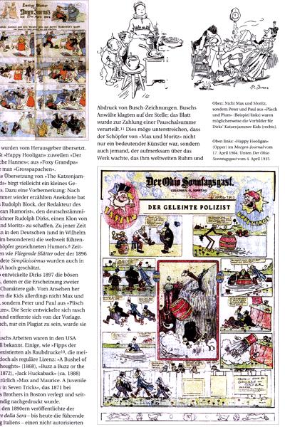 Erste Leseprobe von Deutsche Comicforschung, Band 3 - Jahrbuch 2007