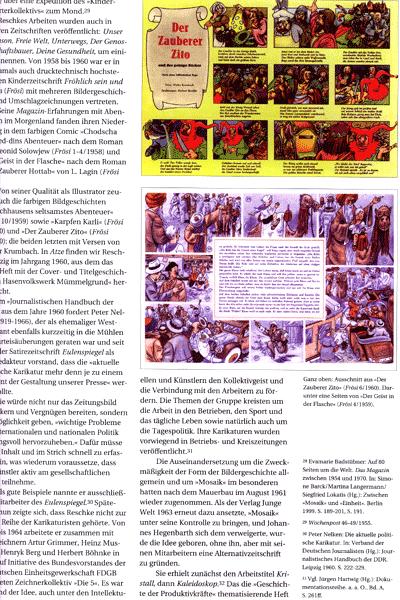 Zweite Leseprobe von Deutsche Comicforschung, Band 3 - Jahrbuch 2007