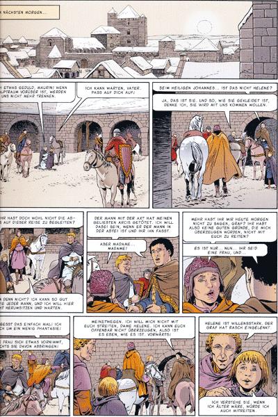 Leseprobe 1 von Das Geheime Dreieck Gesamtausgabe, Band 6 - Das Grab im Wald des Orients, Wiederauferstehung