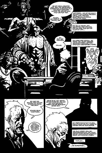 Leseprobe von Hellboy, Band 1 - Saat der Zerstörung