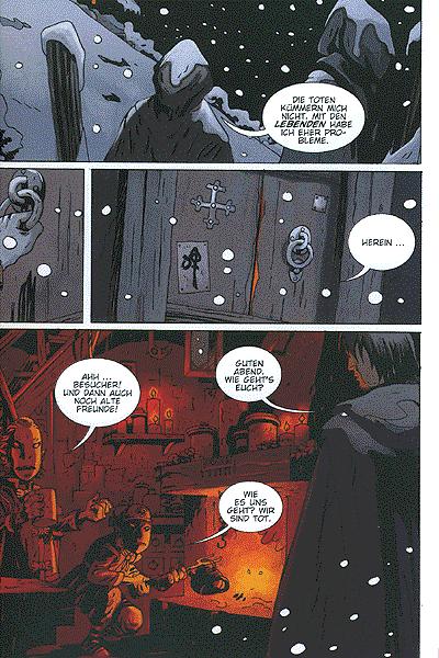 Leseprobe von The Portent - Zeichen des Unheils, Band 1 - Das Reich der Geister