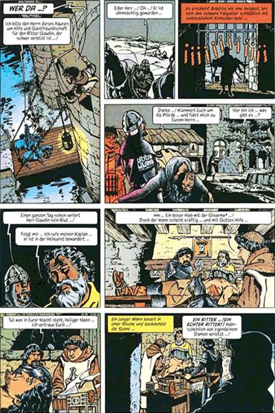 Leseprobe 1 von ROLAND, Ritter Ungestüm [modern], Band 1 - Der schwarze Prinz