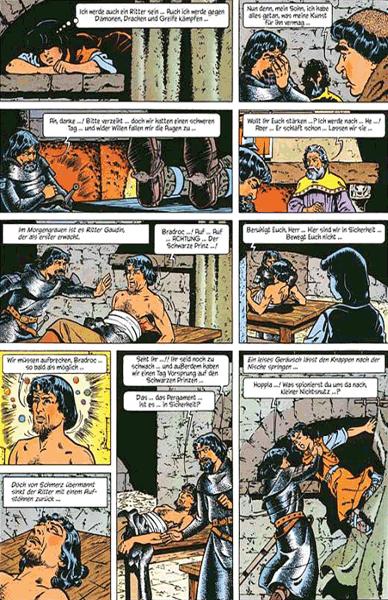 Leseprobe 2 von ROLAND, Ritter Ungestüm [modern], Band 1 - Der schwarze Prinz