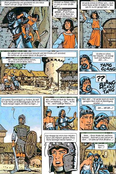 Leseprobe 3 von ROLAND, Ritter Ungestüm [modern], Band 1 - Der schwarze Prinz