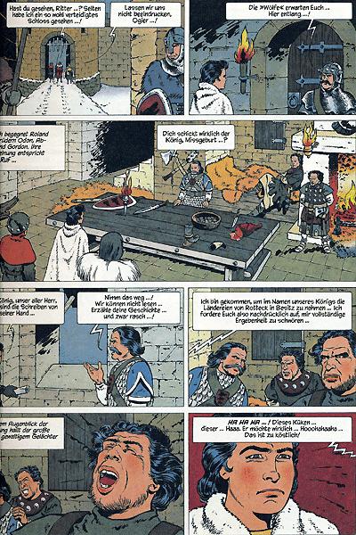 Leseprobe 7 von ROLAND, Ritter Ungestüm [modern], Band 1 - Der schwarze Prinz