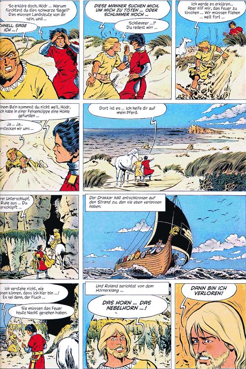 Leseprobe 1 von ROLAND, Ritter Ungestüm [modern], Band 2 - Das Nebelhorn
