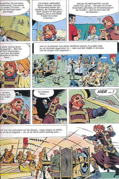 Leseprobe 3 von ROLAND, Ritter Ungestüm [modern], Band 2 - Das Nebelhorn