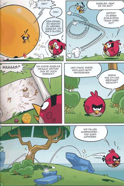 Leseprobe 1 von ANGRY BIRDS | Wütende Vögel, Band 2 - Schweine im Paradies